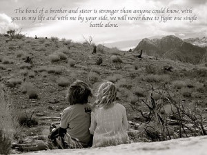 There are so many quotes about the bond between sisters and very few ...
