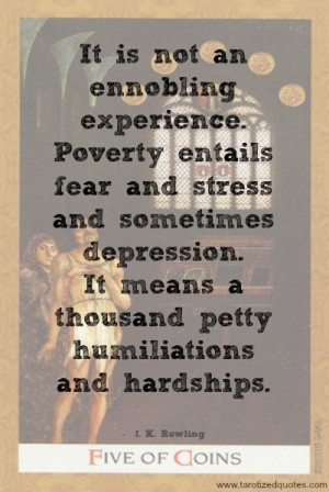 Poverty quotes, meaningful, deep, sayings, hardship