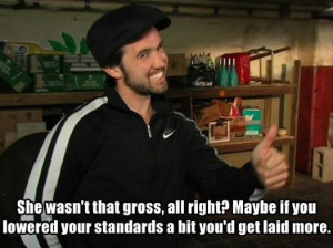 It's Always Sunny Mac Quote On Gross Standards For Success