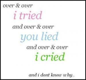 this often happens to me but over & over, i still let myself to be ...