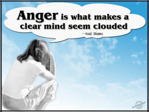Do you hold onto anger?
