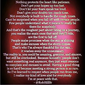 Wise words-Robert Hill Sr