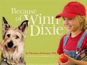 Because of winn dixie by kate dicamillo 182 pages read by kira on