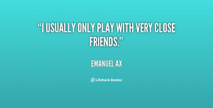Very Close Friends Quotes