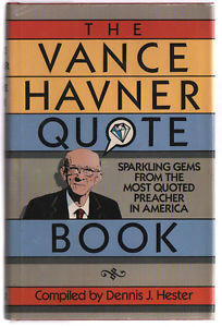 Details about The Vance Havner Quotebook