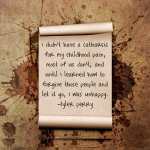 Famous Quote: Tyler Perry Childhood Pain