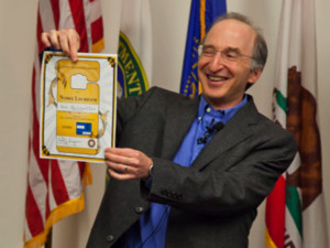Saul Perlmutter Ph D 89 wins the Nobel Prize in Physics