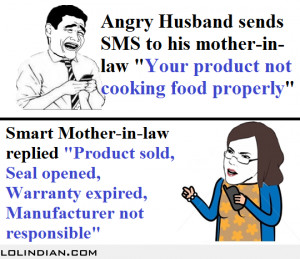Angry husband complains about wife