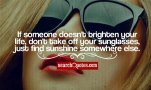 Sunglasses And Advil Quotes...