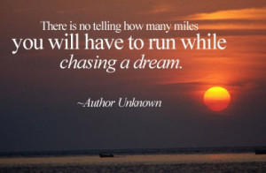 Dose of Inspiration: Chasing a Dream