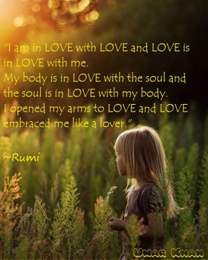 is about knowing that you exist as a manifestation of Pure Love ...