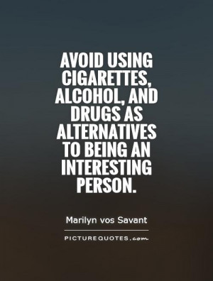 quotes alcohol drug cigarette alcoholic