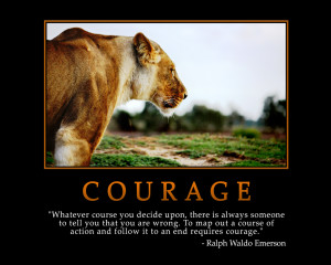 COURAGE - Motivational Wallpapers