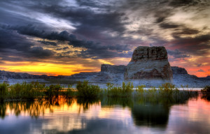 Lake Powell, Colorado (Click on the image for larger view; © Wolfgang ...