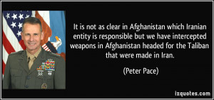 More Peter Pace Quotes