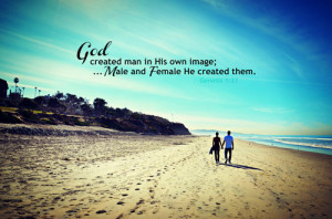 So God created man in his own image, in the image of God created he ...
