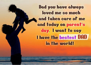 wonderful parents like you wishing you a happy parents day