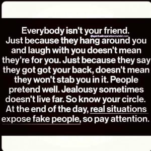 So true! Im tired of the untrustworthy friends in my life. Good thing ...