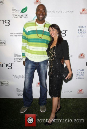John Salley and Magda Rod