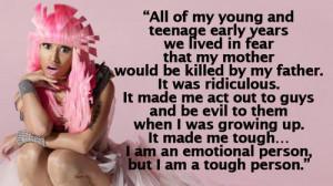 What doesn't kill Nicki Minaj makes her stronger... and wackier?