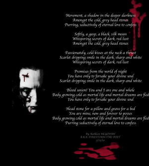 vampire s promise by firestorm the poet vampire love poem image thanks ...