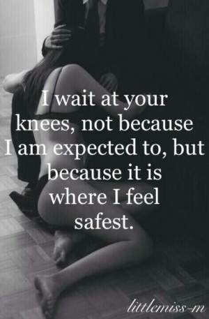 Submissive Love Quotes