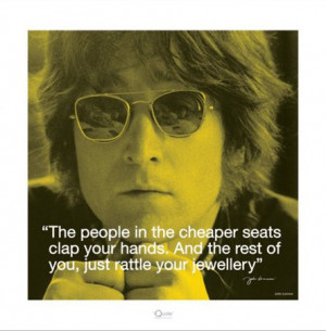 Clap your Hands - John Lennon Quote