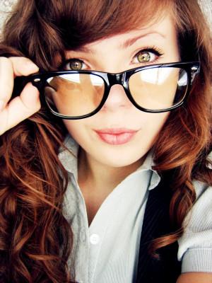 Sexy Glasses Portrait Photography