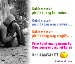 Pinoy Sad Love Quotes and Sad Love Messages