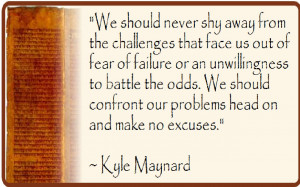 ... or reaching your goals? Have you been stopped by challenges or fear