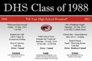 Class Reunion Invitation Reply