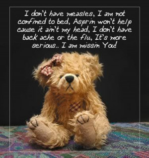 photo missing-you-Love-words-teddy-miss-you-sayings-Verses-pictures ...