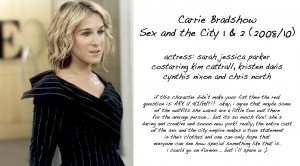 carrie bradshaw love quotes