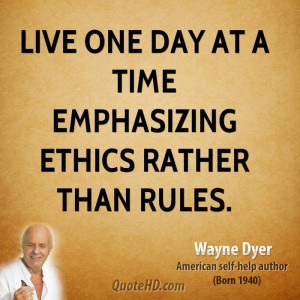 Live One-day at a Time Quotes