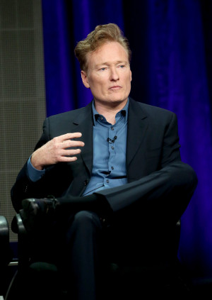 Conan O'Brien was one of the participants in the panel for Super Fun ...