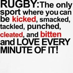 definition of rugby. #rugby More