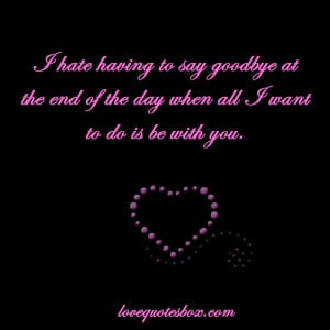 saying goodbye to someone you love quotes