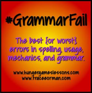 GrammarFail Pinterest Board by www.pinterest.com/mrsorman