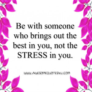 Quotes For Stressed Out People