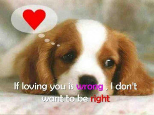 Love quotes and sayings pictures cute puppy