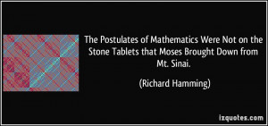 More Richard Hamming Quotes