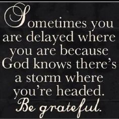 God watches over me!
