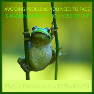 Avoiding problems you need to face...