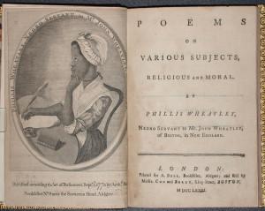 Poem Phillis Wheatley The