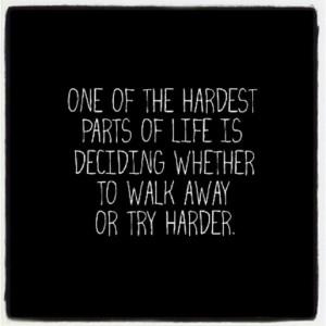 Inspirational Quotes About Tough Decisions. QuotesGram