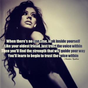 christina-aguilera.-quotes-song-quotes-trust-girl-woman-Favim.com ...