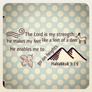 My God is my forever strength.