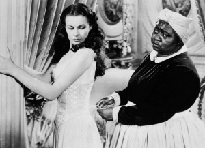 "Hattie McDaniel (right) as Mammy with Vivien Leigh in ""Gone With The ..."