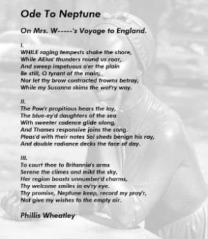 Google Phillis Wheatley Poems