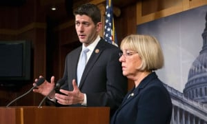 In the budget deal clinched by Sen. Patty Murray and Rep. Paul Ryan ...